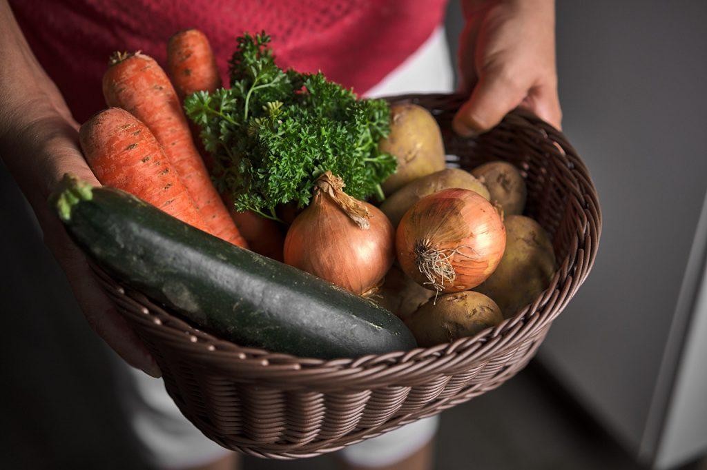 Zutaten für Gemüse-Kartoffelpuffer